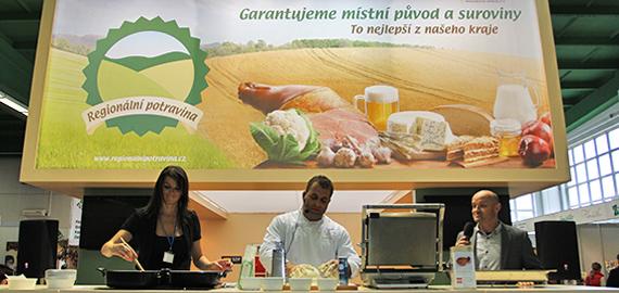 Regionální potravina (Ogilvy): Dokumentace z propagace regionálních výrobců