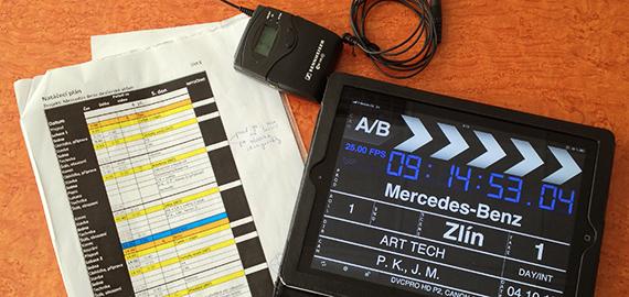 Každé natáčení začíná pečlivým plánováním