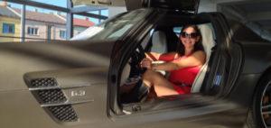 Natáčení firemního videa pro Mercedes Benz